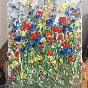 🌺🌹flowers from my garden🌹🌺 original painting